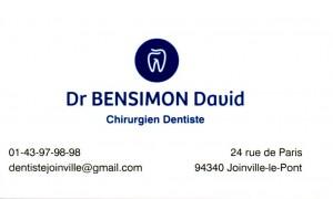 Dr Bensimon